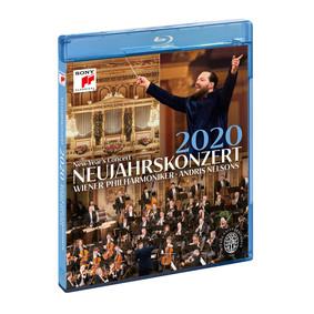 Andris Nelsons, Wiener Philharmoniker - Neujahrskonzert 2020 / New Year's Concert 2020 [Blu-ray]