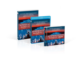 Valery Gergiev, Wiener Philharmoniker - Sommernachtskonzert 2020 / Summer Night Concert 2020 [Blu-ray]