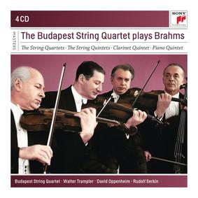 Budapest String Quartet - The Budapest Strinq Quartet Play Brahms