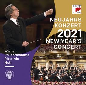 Riccardo Muti, Wiener Philharmoniker - Neujahrskonzert 2021 / New Year's Concert 2021 / Concert du Nouvel An 2021 [DVD]