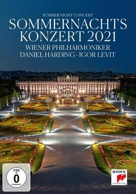 Daniel Harding, Wiener Philharmoniker - Sommernachtskonzert 2021 / Summer Night Concert 2021 [DVD]