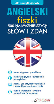Angielski Fiszki 500 Najważniejszych Słów i Zdań