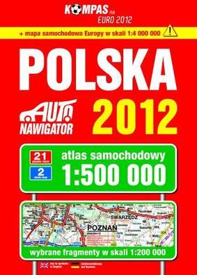 Polska. Atlas samochodowy 1:500 000