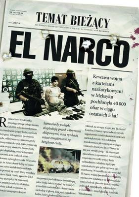 Ioan Grillo - El Narco. Narkotykowy zamach stanu w Meksyku / Ioan Grillo - El Narco inside Mexico's Criminal Insurgency