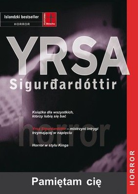 Yrsa Sigurdardottir - Pamiętam cię / Yrsa Sigurdardottir - I Remember You