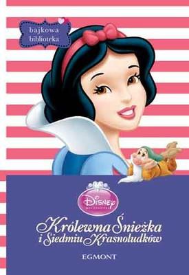 Disney - Królewna Śnieżka. Bajkowa biblioteka