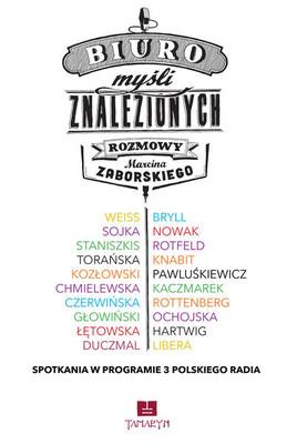 Marcin Zaborski - Biuro myśli znalezionych