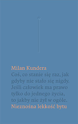 Milan Kundera - Nieznośna lekkość bytu / Milan Kundera - Nesnesitlena lehkost byti
