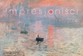 Kalendarz ścienny 2014, Impresjoniści