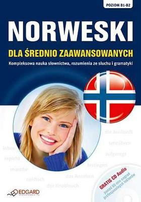 Norweski dla średnio zaawansowanych. Poziom B1-B2 + CD