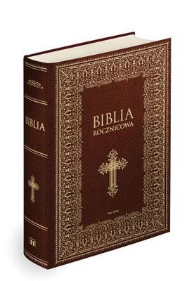 Biblia rocznicowa