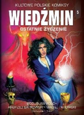 Kultowe polskie komiksy. Tom 5. Wiedźmin