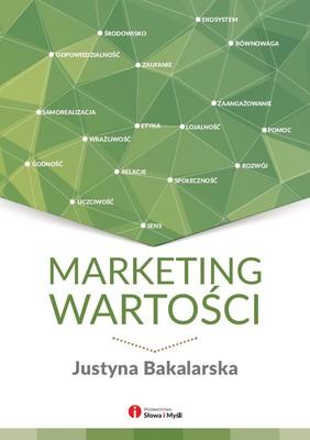 Justyna Bakalarska - Marketing wartości