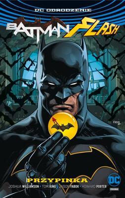 Joshua Williamson, Tom King - DC Odrodzenie. Batman/Flash - Przypinka