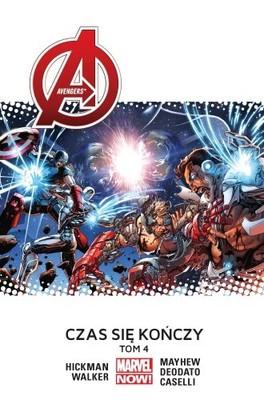 Jonathan Hickman - Avengers. Tom 4. Czas się kończy