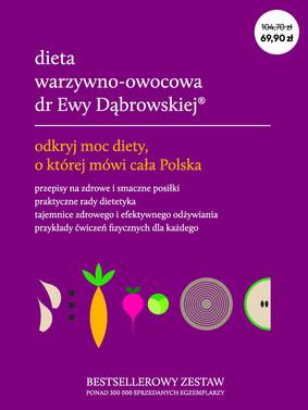 Beata Dąbrowska, Karolina Borkowska - Pakiet: Dieta warzywno-owocowa dr Ewy Dąbrowskiej
