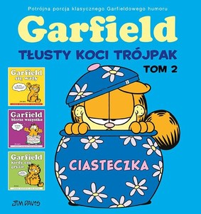 Jim Davis - Garfield. Tom 2. Tłusty koci trójpak