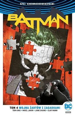 Tom King - Batman. Tom 4. Wojna żartów z zagadkami