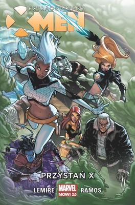 Jeff Lemire - Przystań X. Extraordinary X-Men. Tom 1