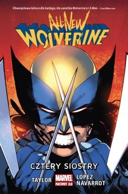 Tom Taylor - Cztery siostry. All-New Wolverine. Tom 1
