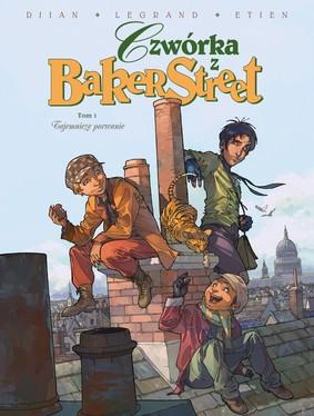 Jean-Blaise Djian, Olivier Legrand - Tajemnicze porwanie. Czwórka z Baker Street. Tom 1