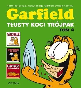 Jim Davis - Garfield. Tłusty koci trójpak. Tom 4