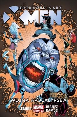 Jeff Lemire - Wojna Apocalypse'a. Extraordinary X-Men. Tom 2
