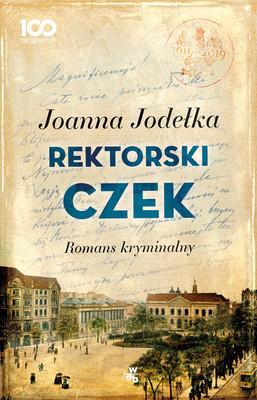 Joanna Jodełka - Rektorski czek