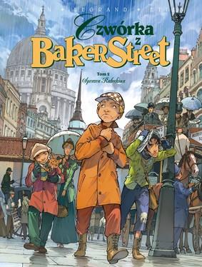 Jean-Blaise Djian, Olivier Legrand - Sprawa Rabukina. Czwórka z Baker Street. Tom 2