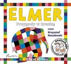 David McKee - Posłuchajki. Elmer. Przygody w kratkę