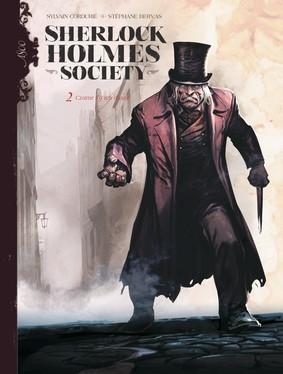 Sylvain Cordurié - Czarne są ich dusze. Sherlock Holmes Society. Tom 2