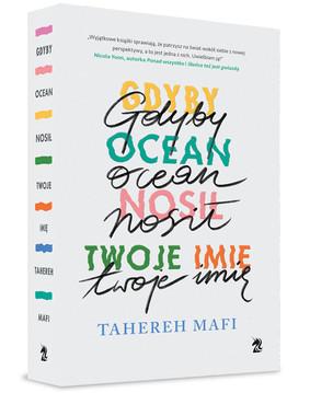 Tahereh Mafi - Gdyby ocean nosił twoje imię