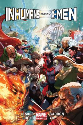 Jeff Lemire, Charles Soule - Inhumans kontra X-Men