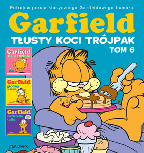 Jim Davis - Tłusty koci trójpak. Garfield. Tom 6