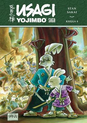 Stan Sakai - Usagi Yojimbo. Saga. Księga 4