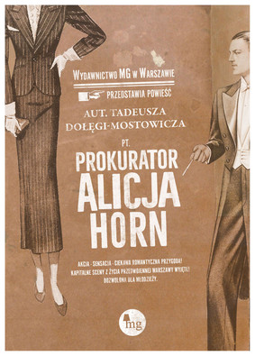 Tadeusz Dołęga-Mostowicz - Prokurator Alicja Horn