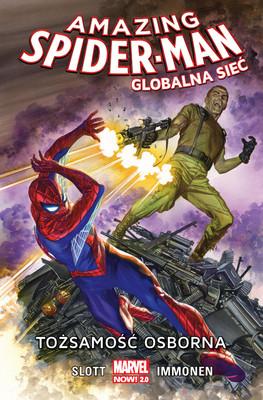 Dan Slott, Stuart Immonen - Tożsamość Osborna. Amazing Spider Man. Globalna sieć. Tom 6
