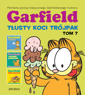 Jim Davis - Garfield. Tłusty koci trójpak. Tom 7