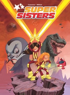 Christopher Cazenove, William Maury - Supersisters. Tom 1