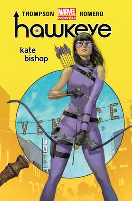 Kelly Thompson, Leonardo Romero - Kate Bishop. Hawkeye
