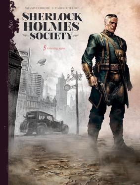 Sylvain Cordurie, Fabio Detullio - Grzechy syna. Sherlock Holmes Society. Tom 5