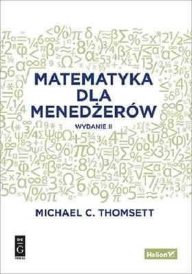Michael C. Thomsett - Matematyka dla menedżerów