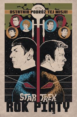Jackson Lanzing, Collin Kelly - Rok piąty. Star Trek. Tom 1