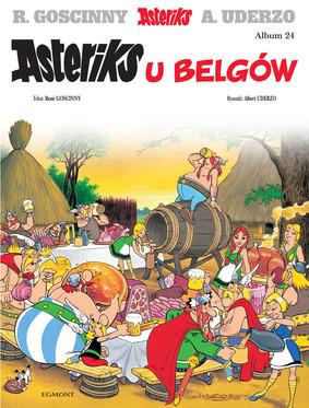 Albert Uderzo, René Goscinny - Asteriks u Belgów. Asteriks. Tom 24