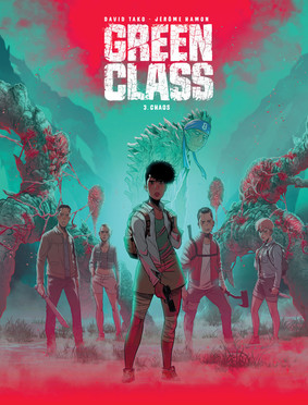 Jerome Hamon, David Tako - Chaos. Green Class. Tom 3