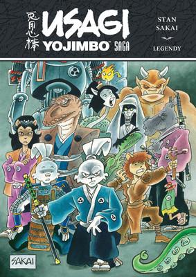 Stan Sakai - Legendy. Usagi Yojimbo. Saga