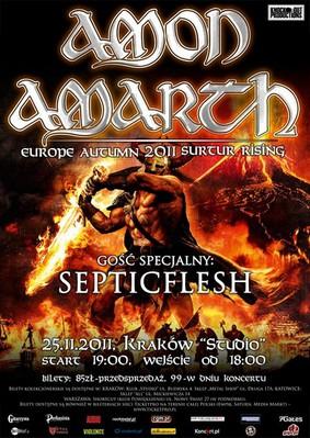 Amon Amarth - Surtur Rising: Europe Autumn Tour