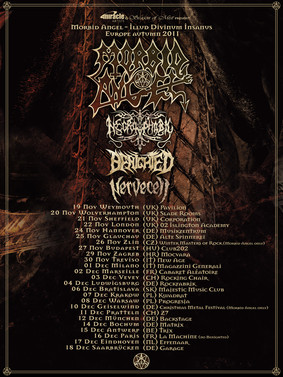 Morbid Angel - koncert w Warszawie / Morbid Angel - Illud Divinum Insanus Tour