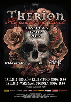 Therion - koncert w Warszawie / Therion - Flowers of Evil European Tour 2012