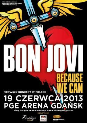 Bon Jovi - koncert w Polsce / Bon Jovi - Because We Can - The Tour